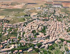Village de Valensole - Vue aérienne